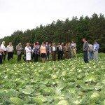 Visite de terrain en Biélorussie