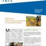 MDG De la riziculture traditionnelle a la riziculture amelioree