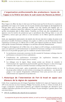 Fert BRS_Organisation-professionnelle-des-producteurs_Filiere-lait-Parana