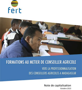 Fert capitalisation formation conseiller agricole